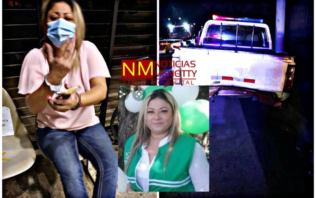 Candidata a diputada provocó accidente dejando un agente del CAM muerto.