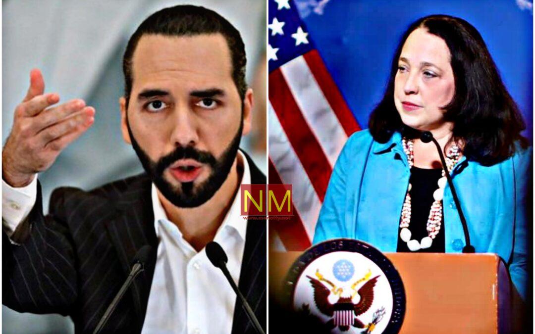 Embajada de USA condenó reelección presidencial que ofrece oportunidad de seguir en el poder a Nayib Bukele.
