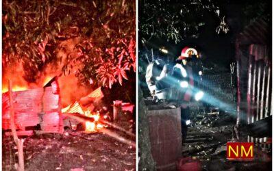 Dos ancianos murieron quemados en su vivienda de Quezaltepeque.