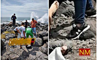 Hombre asesinado y dejado desnudo a la orilla de la playa en La Libertad.
