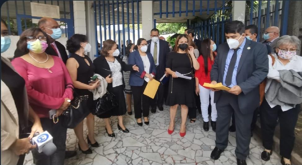 Jueces y Magistrados con restricciones para ingresar a la Corte Suprema de Justicia.